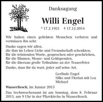 Zur Gedenkseite von Willi