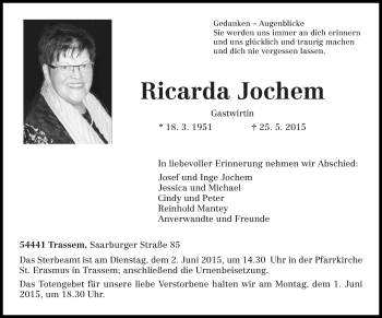 Zur Gedenkseite von Ricarda