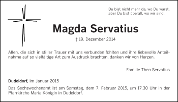 Zur Gedenkseite von Magda