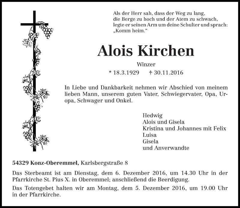 Alois Kirchen