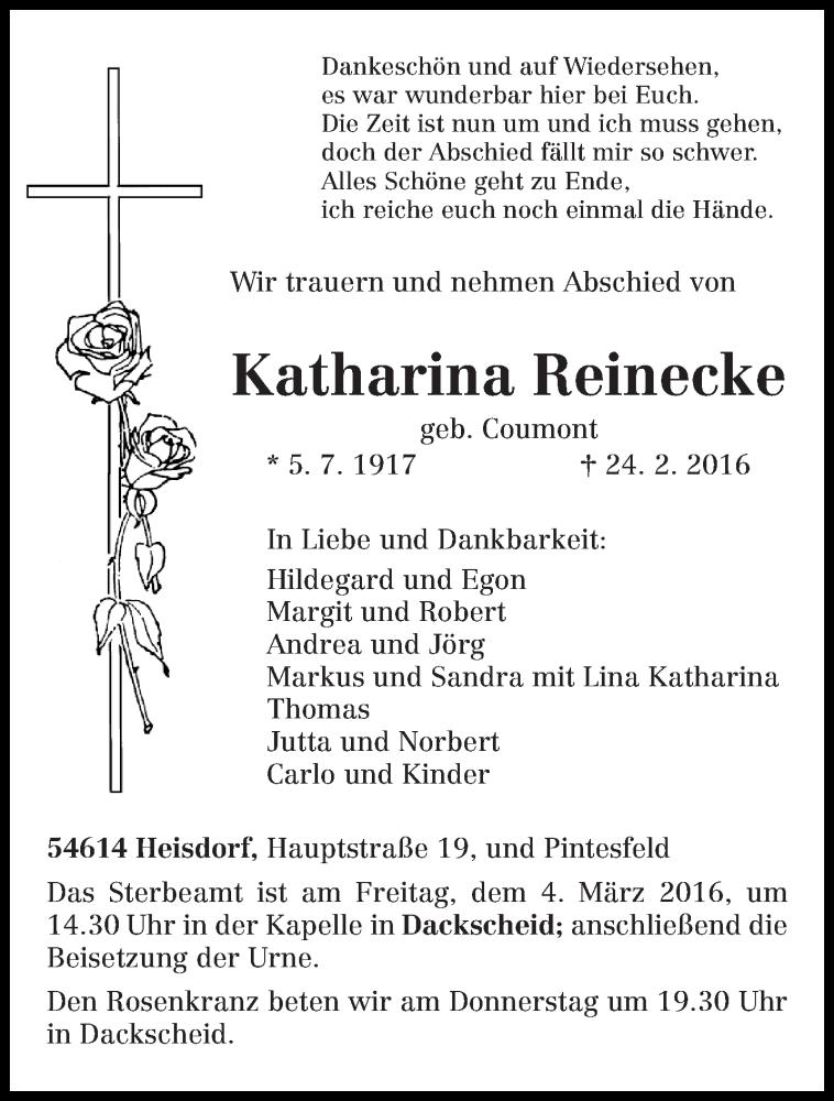 Markus Reinecke Frau