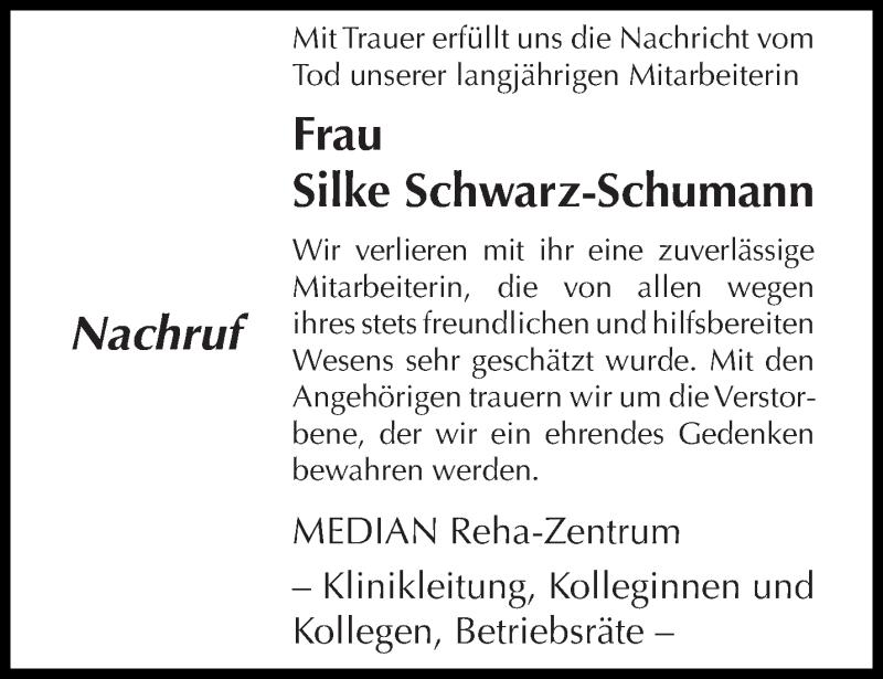 Traueranzeige für Silke Schwarz-Schumann vom 16.01.2021 aus trierischer_volksfreund